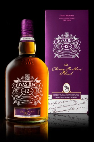 Chivas blend design packaging