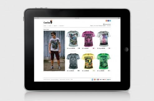 CeeGee Clothing design identity par Mash Creative 6