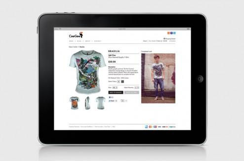 CeeGee Clothing design identity par Mash Creative 7
