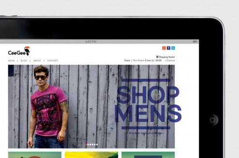 CeeGee Clothing design identity par Mash Creative 8