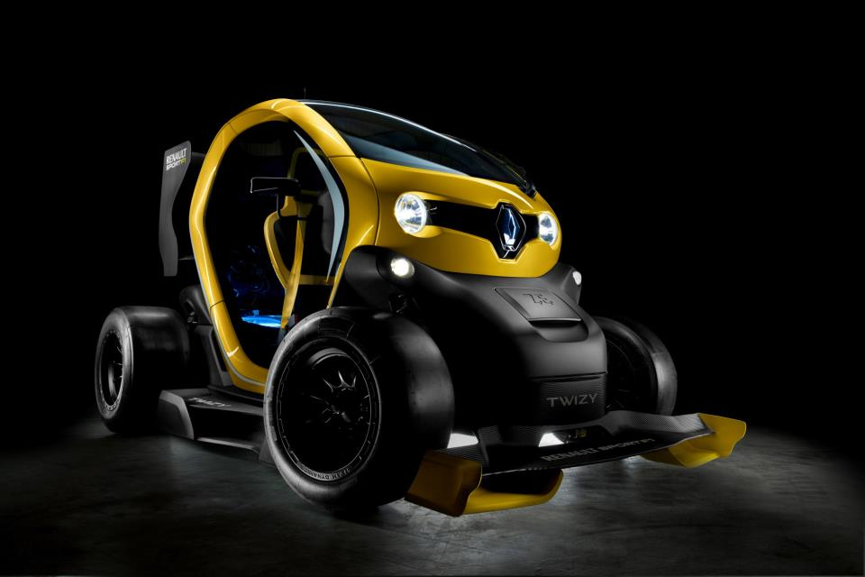 design renault sport F1 twizy