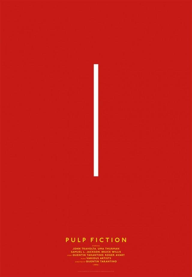 design minimaliste   films l u00e9gendaires par michal krasnopolski