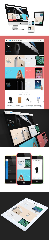 apple-store-webdesign-ui-flat