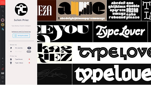 creation collaborative typographie