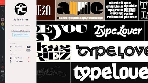 creation collaborative typographie