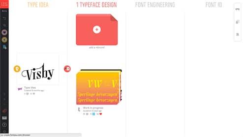 interface fontyou typographie